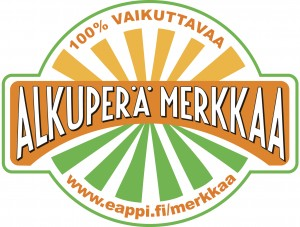 alkuperä merkkaa - logo
