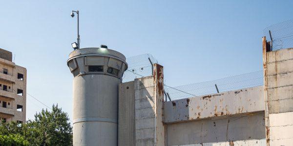 Betlehemin muuria ja vartiotorni.